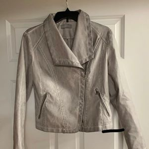 Faux Leather Jacket. Brand new without tag.